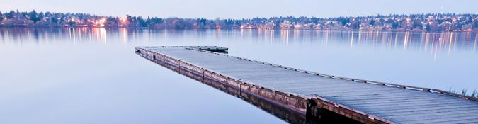 Green Lake dock