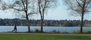 Green Lake running trail
